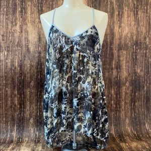 Free people racer back tank size small